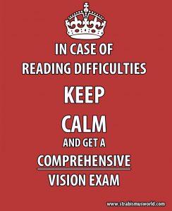 comprehensive vision exam