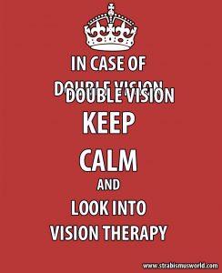 double vision keep calm