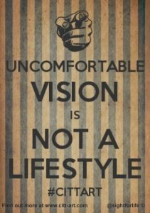 uncomfortable vision is not a lifestyle
